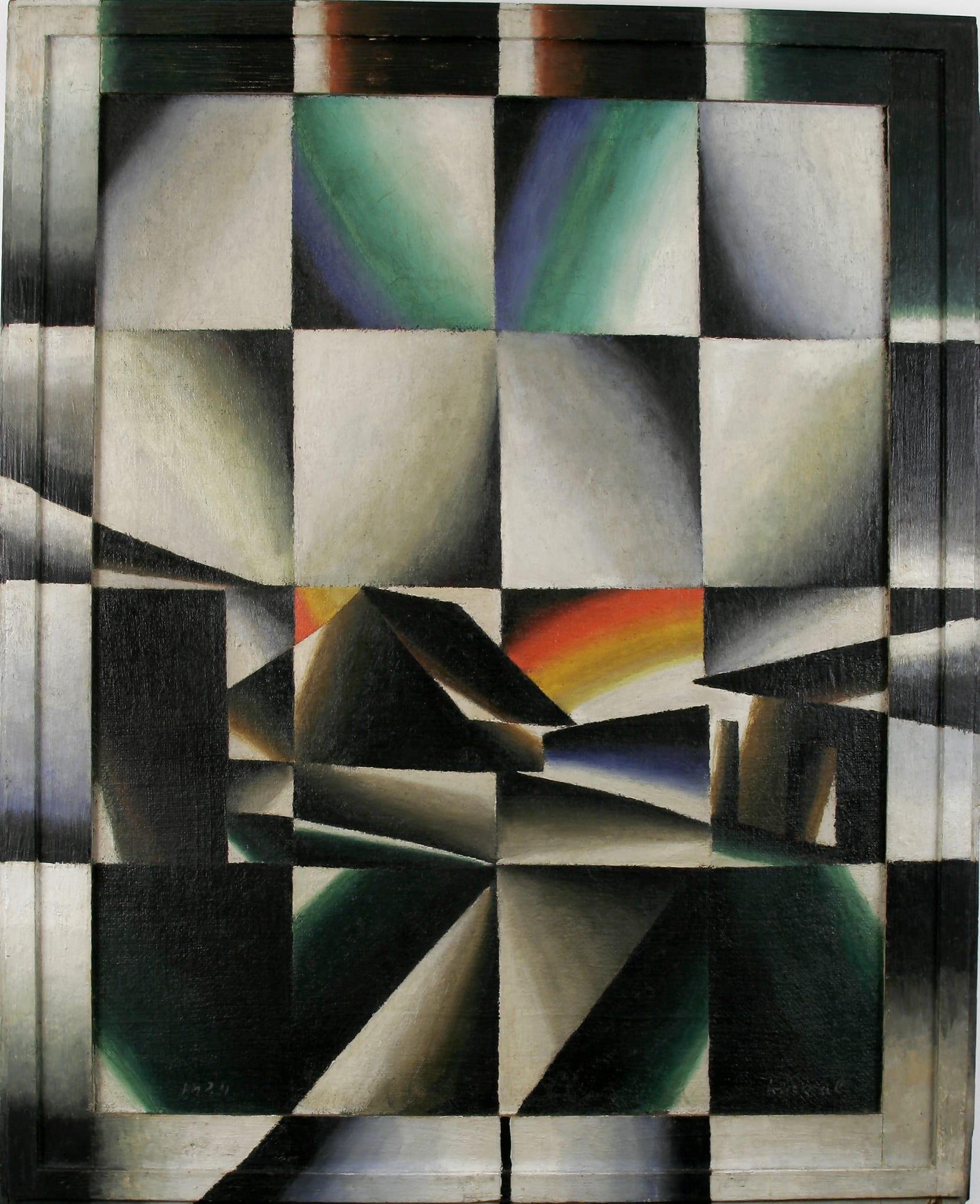 Regenbogen (prismatisch) by Arthur Segal