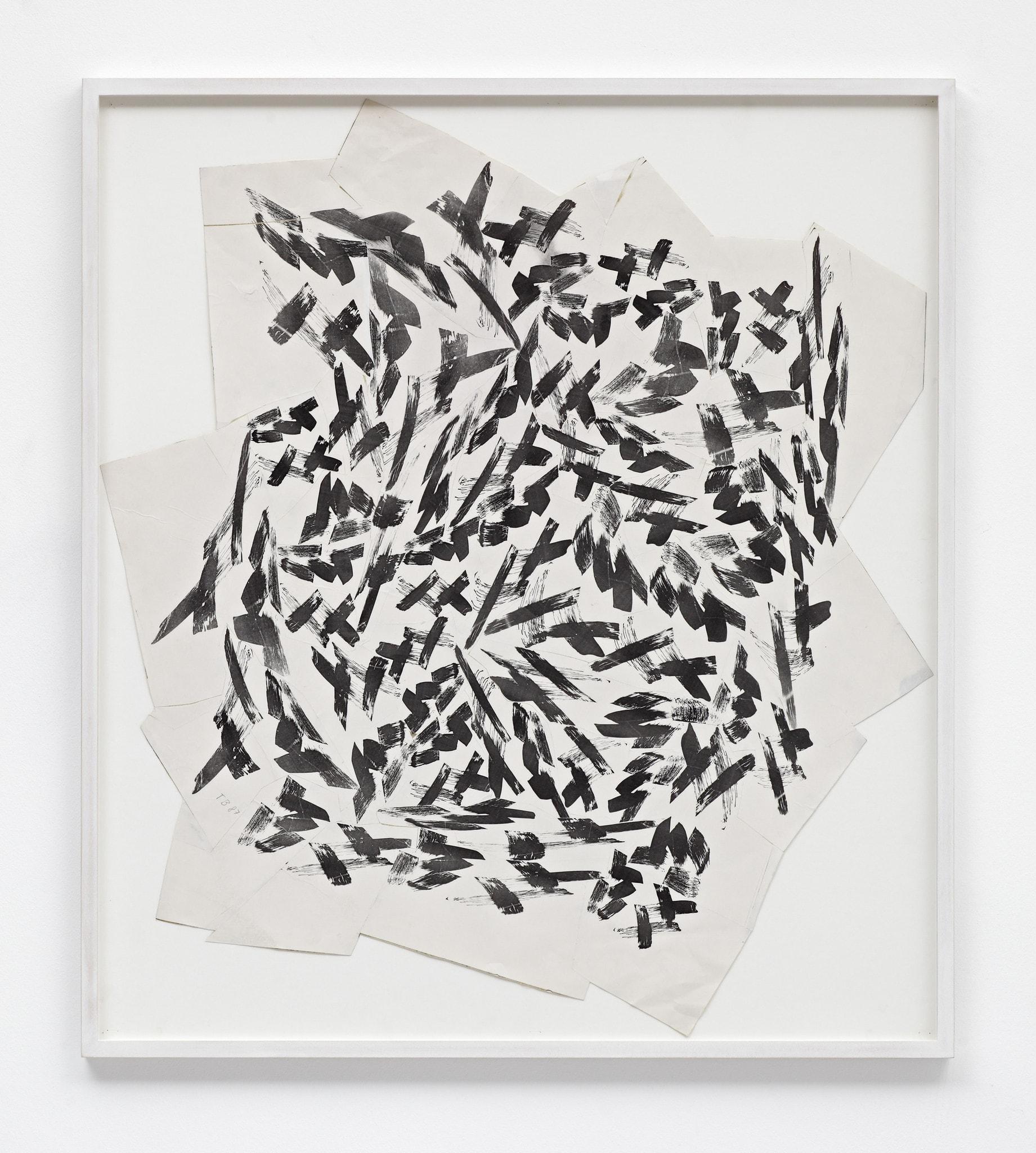 Pinselkomposition by Thomas Bayrle