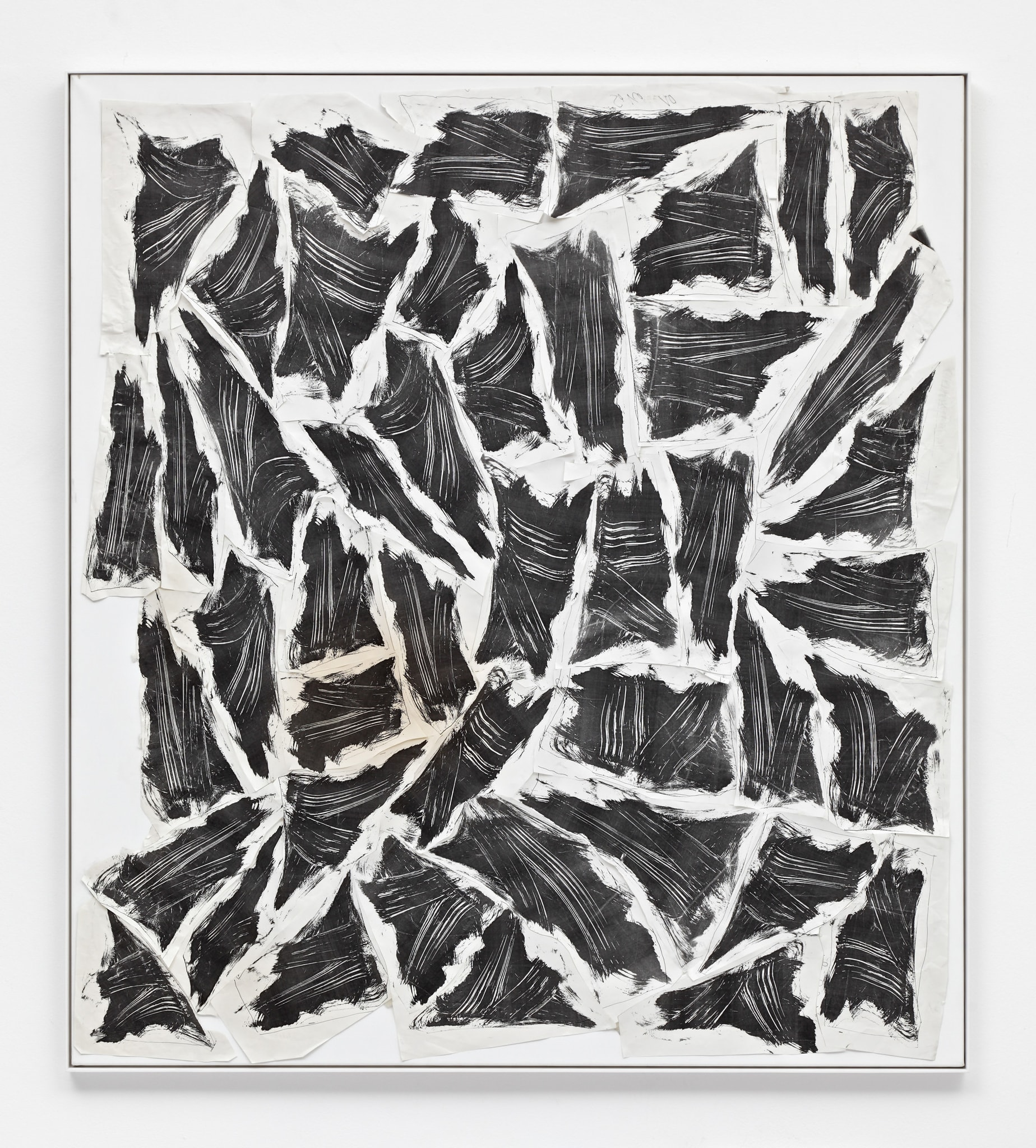 Stückmalerei 1987 45 Varianten by Thomas Bayrle
