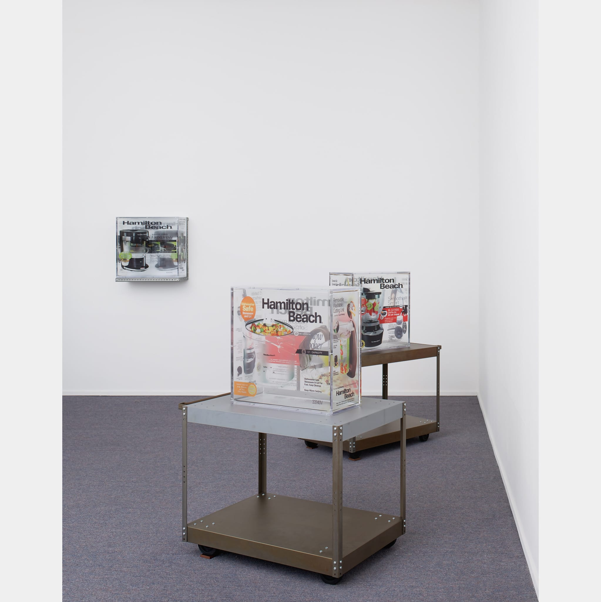 Installation view, 'Taster's Choice', MoMA PS1 by Zak Kitnick