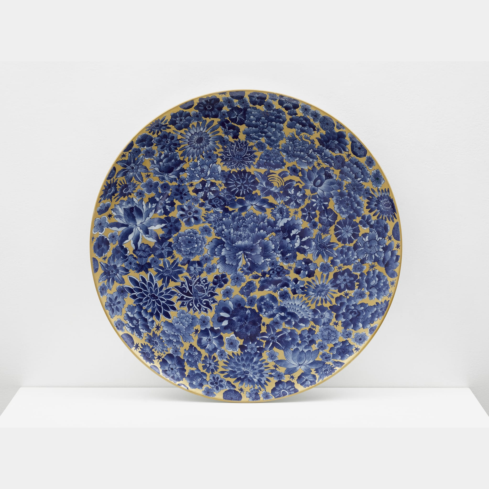 Plate with Flowers by Ai Weiwei