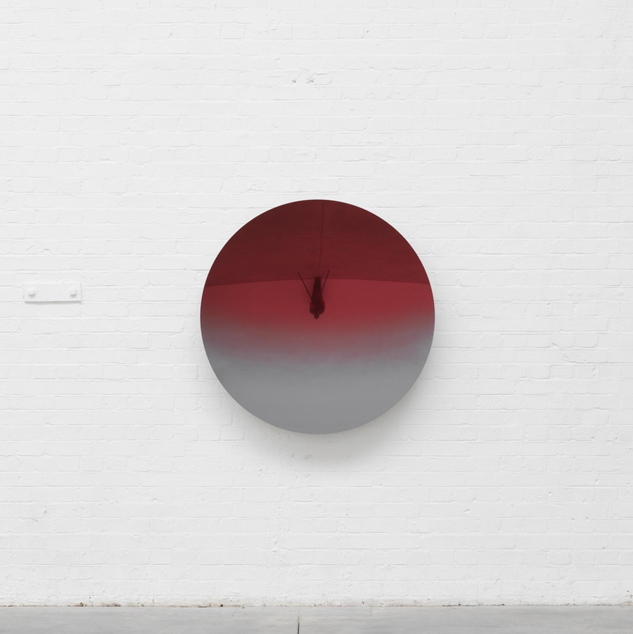 Mirror (Apple Magenta to Grey) by Anish Kapoor