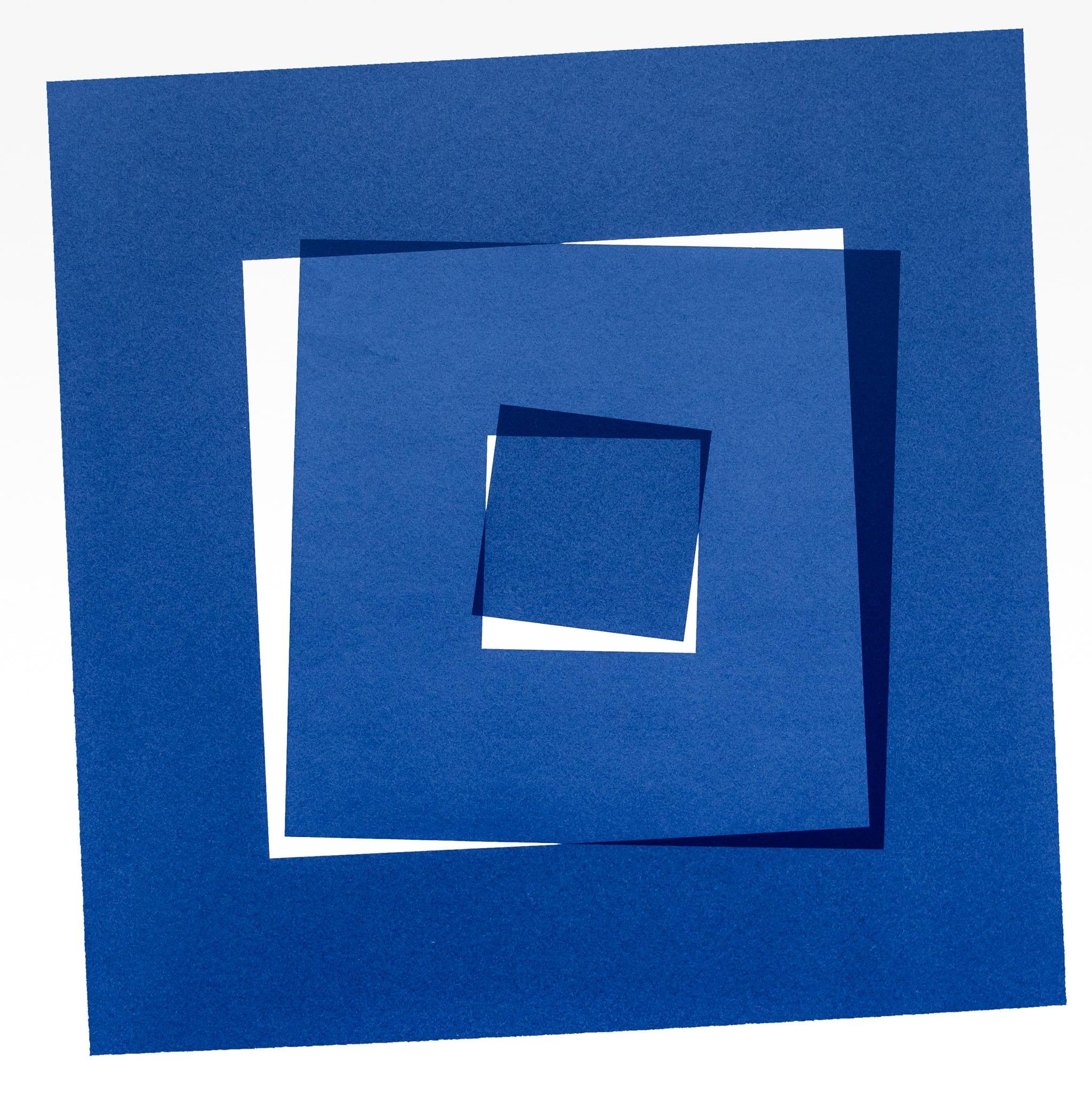 «carré coupé en 3» by Vera Molnar