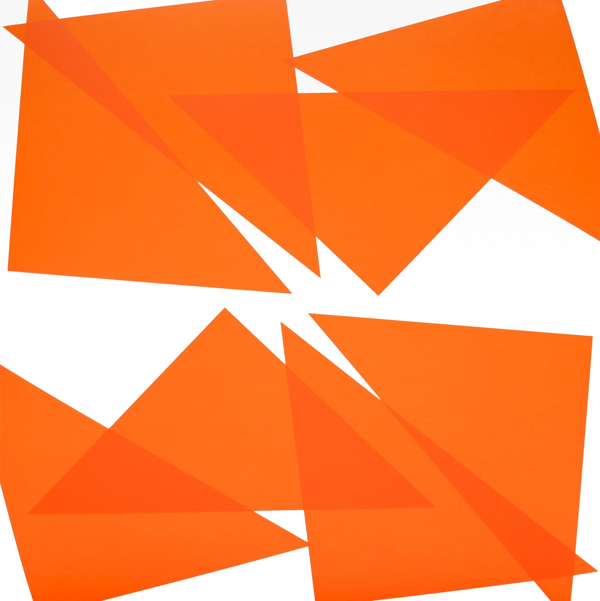24 Triangles-1 by Vera Molnar