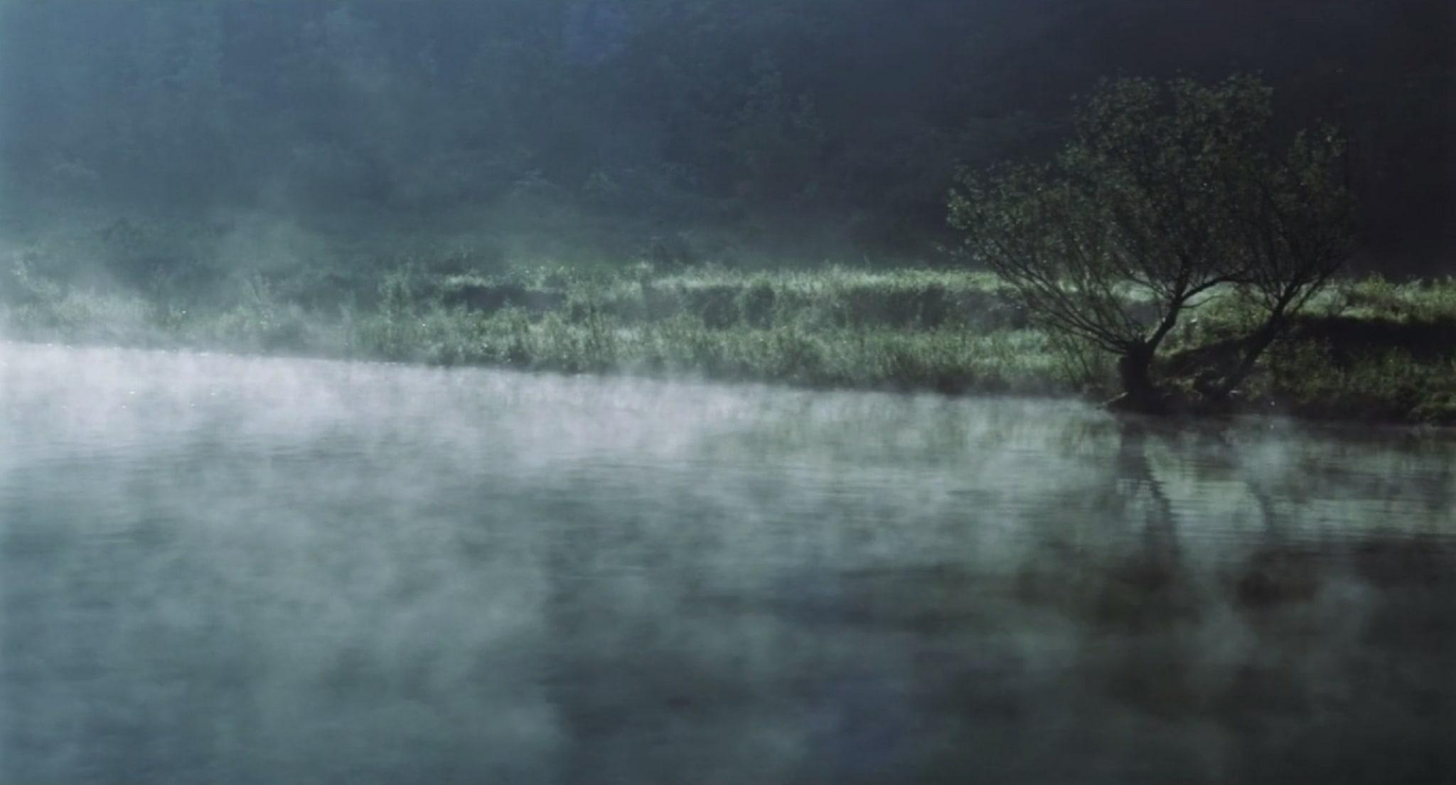 The Swim by Xiangyu He