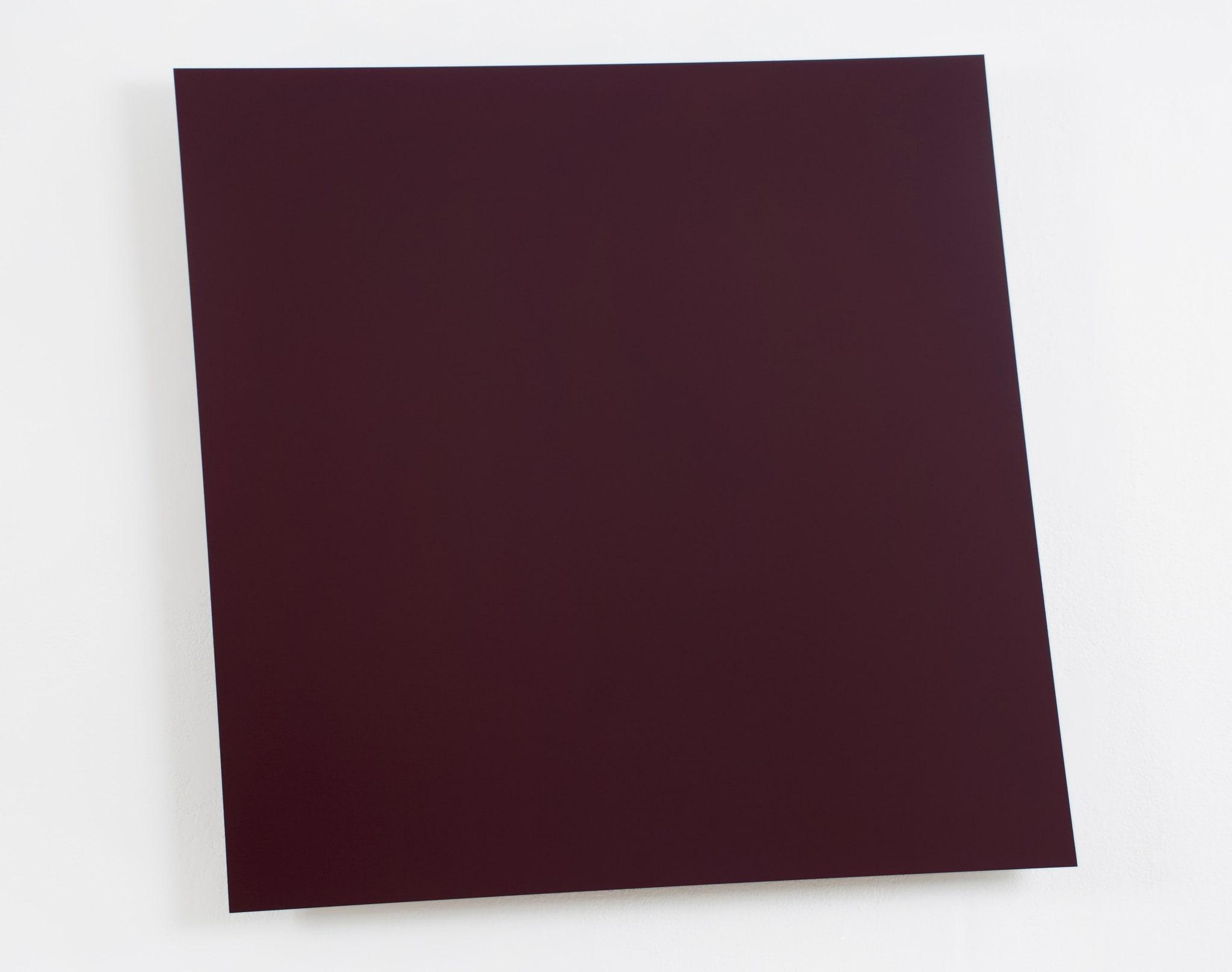 Dark Red-Violet Panel by Ellsworth Kelly