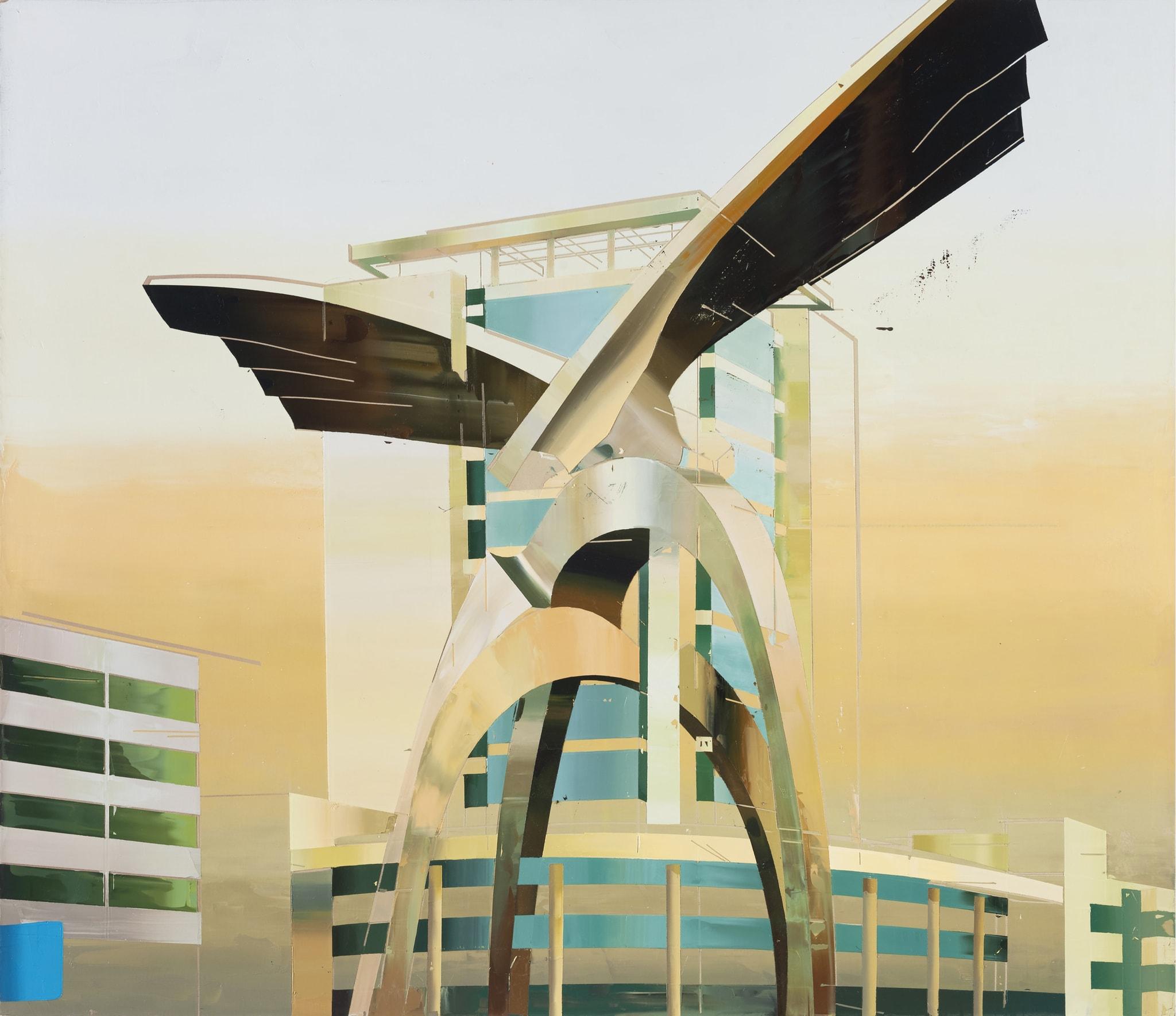 Building of Eagles by Cui Jie