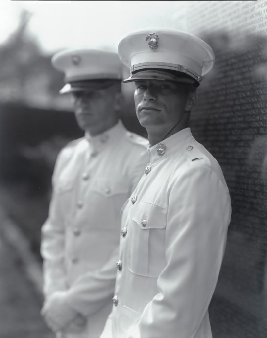 Untitled, from Portraits at the Vietnam Veterans Memorial, Washington, D.C., 1983/84 by Judith Joy Ross