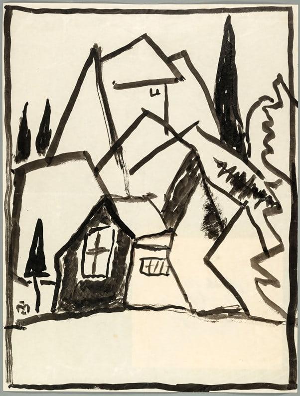 Landscape by Gabriele Münter