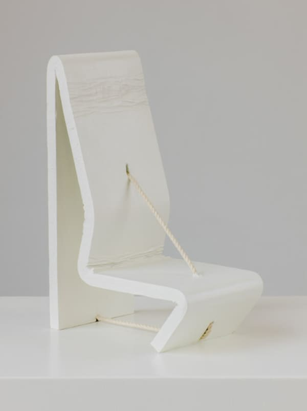 Astounding Ricky Swallow Hanging Bow With Pegs Art Basel Theyellowbook Wood Chair Design Ideas Theyellowbookinfo