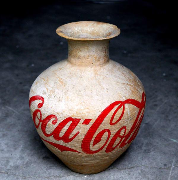 Ai Weiwei Colored Vases Art Basel