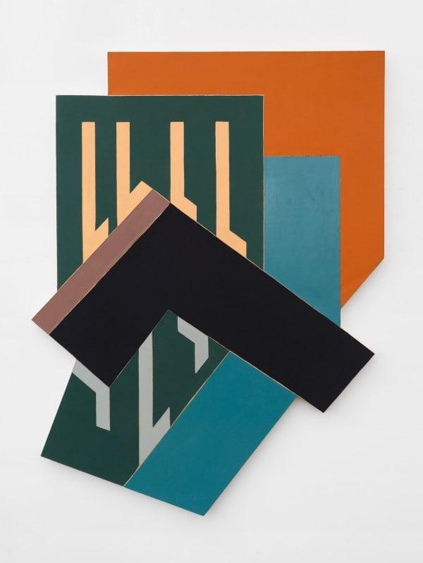 Frank Stella   Black Study I   Art Basel