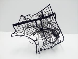Line Drawing Net : Monika sosnowska art basel