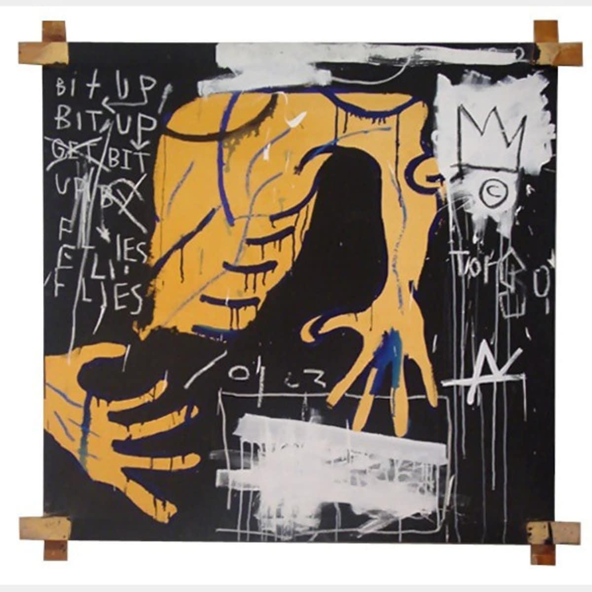 Busted Atlas 2 1982 By Jean Michel Basquiat