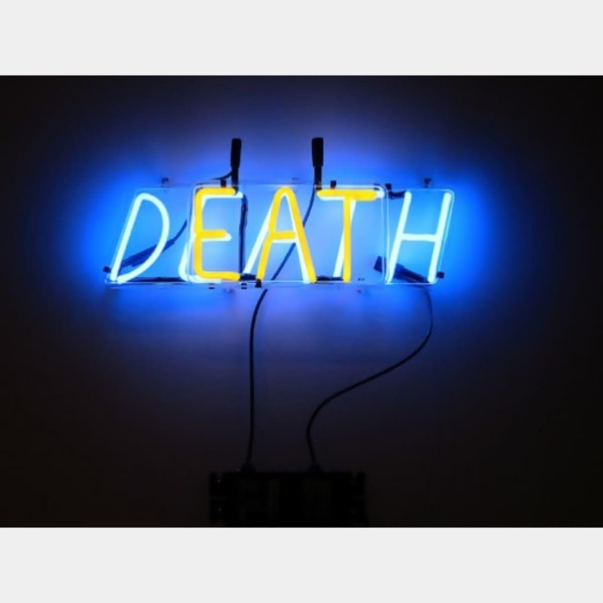 bruce nauman eat death art basel