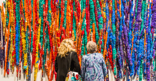 From the Bauhaus to the Venice Biennale: How textiles became art