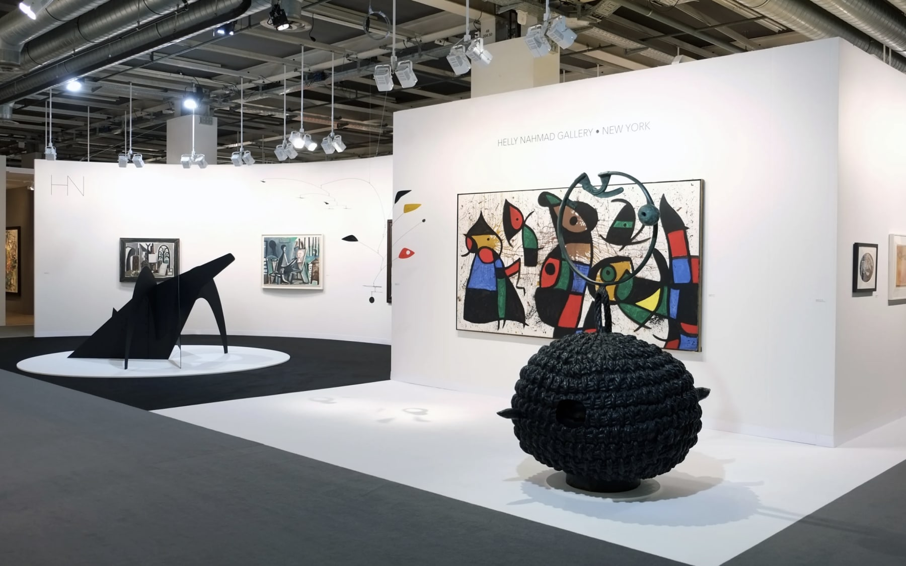 Exhibition Stand Galleries : Helly nahmad gallery art basel