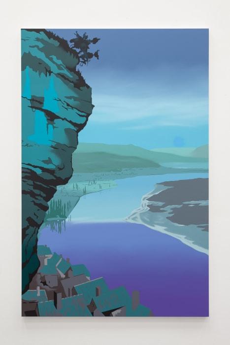 Dordogne (turquoise) by Alex Dordoy