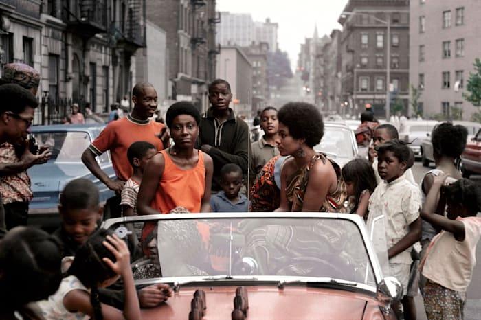 Untitled (Garvey Day, Deedee in Car) by Kwame Brathwaite