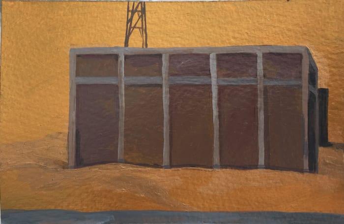 Construction I by Farida El Gazzar