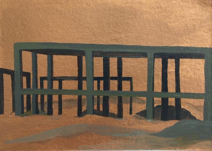 Construction II by Farida El Gazzar