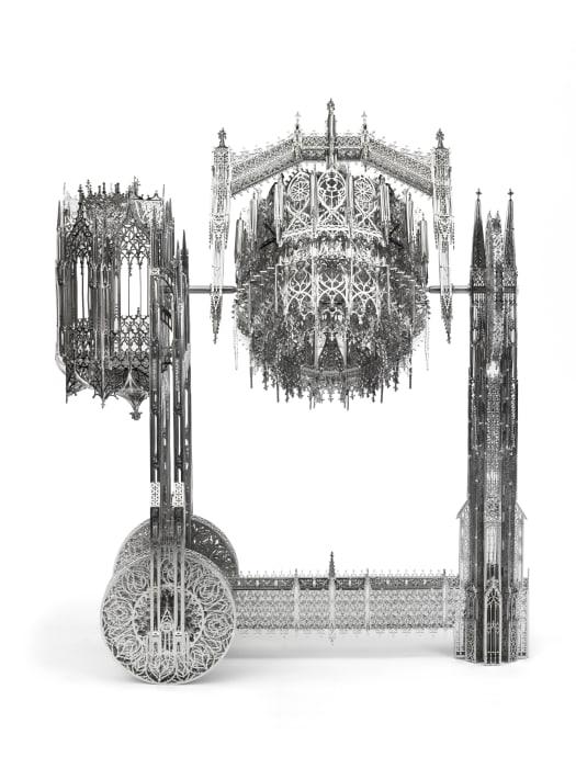 Concrete Mixer (scale model ¼) by Wim Delvoye