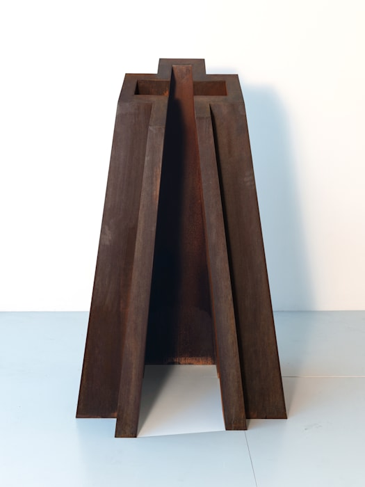 Open Box Cross by David Nash