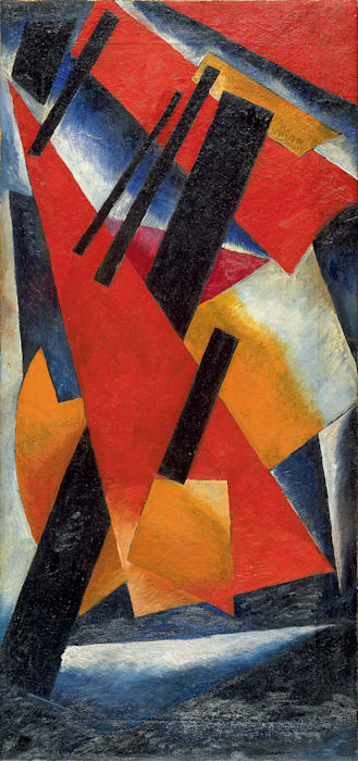 Non-objective Composition by Liubov Popova
