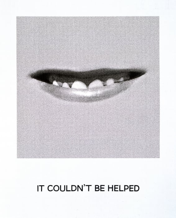 Goya Series: IT COULDN'T BE HELPED by John Baldessari