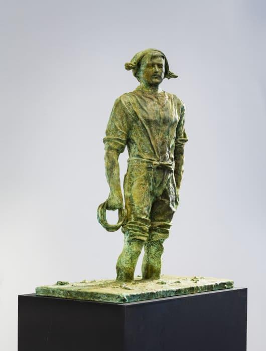 Mann mit Mütze by Thomas Schütte