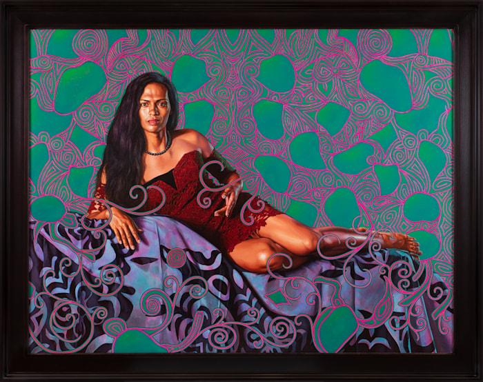 Portrait of Kea Loha Mahuta II by Kehinde Wiley