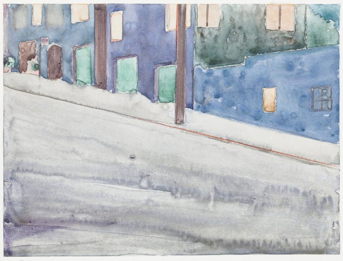 Arkansas Street (3) by Robert Bechtle