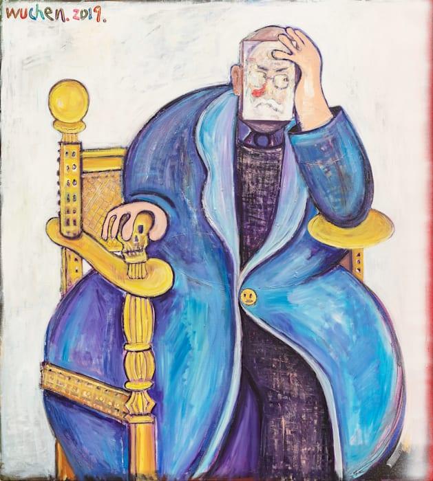 Portrait of Matisse by Wu Chen