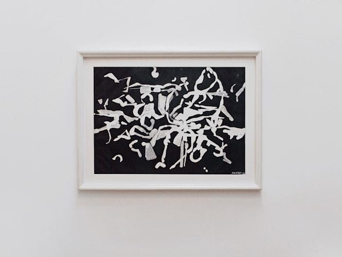 Fondo Nero by Carla Accardi