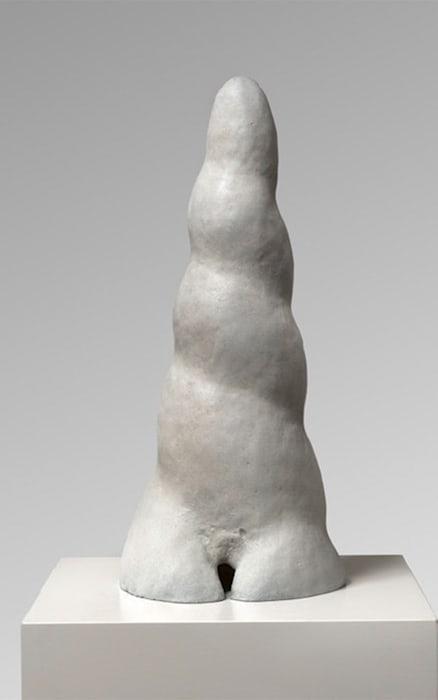 Turmwurm by Leiko Ikemura