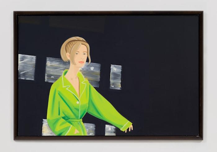 Yvonne in Green by Alex Katz