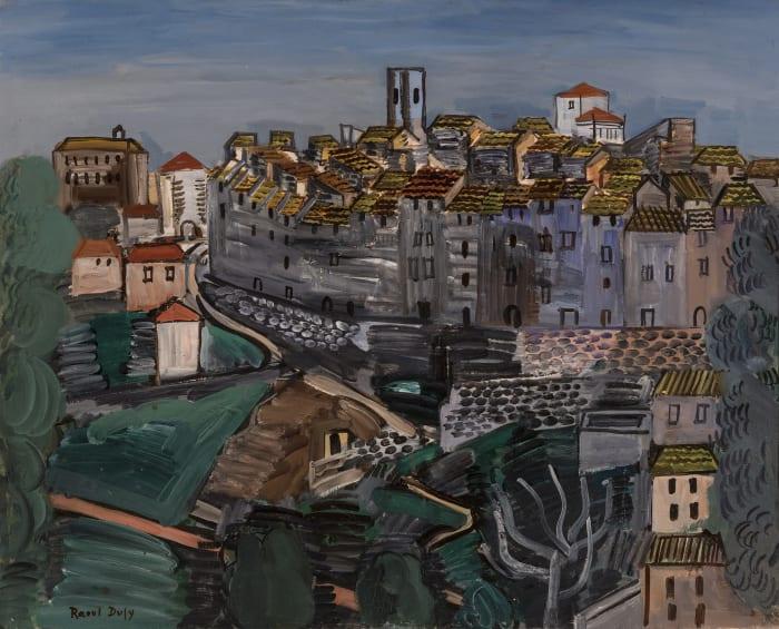 Vence by Raoul Dufy