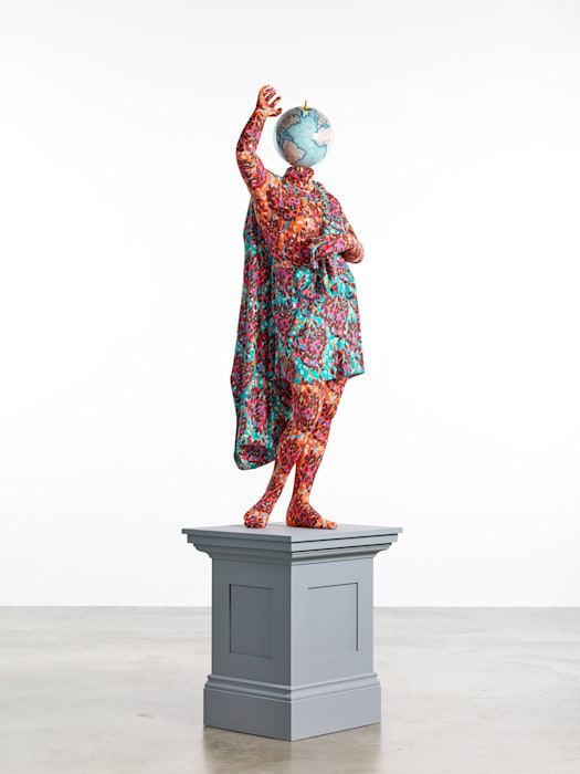 Wounded Amazon (after Sosikles) by Yinka Shonibare CBE