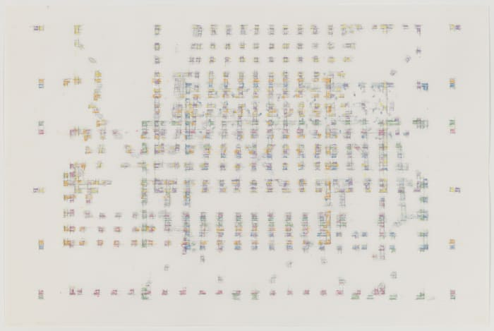 Study for Threshold — Matrix : fossil [ spectrum : sample ] by Julia Fish