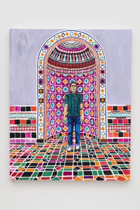 Andrew (Powell Library) by Raffi Kalenderian
