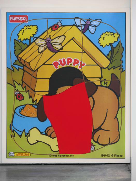 Puppy Puzzle (One) by Matt Keegan