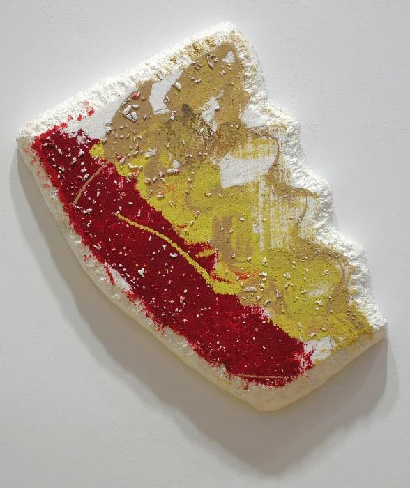 Lonesome Cowboy Styrofoam #5 by Richard Tuttle
