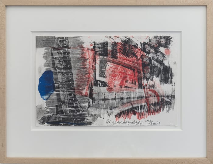 Sub-Total by Robert Rauschenberg