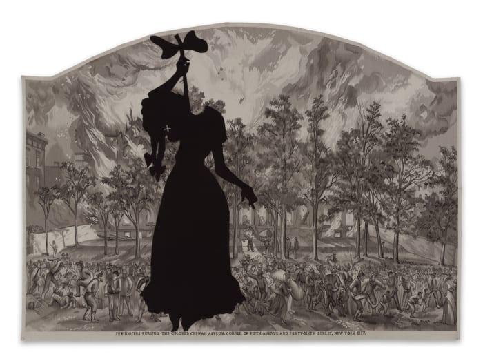 A Warm Summer Evening in 1863 by Kara Walker
