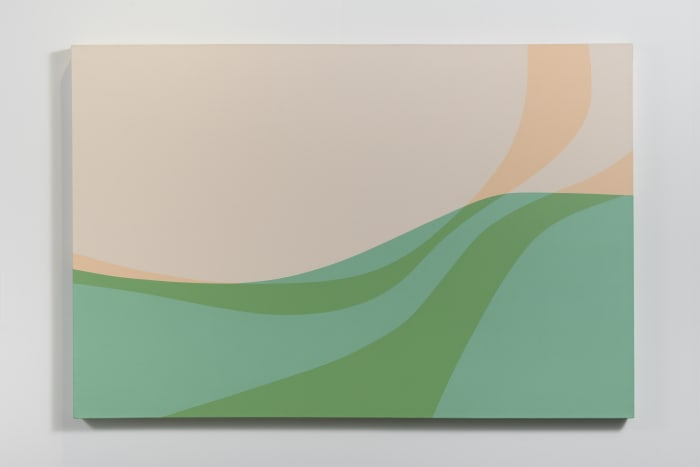 Landscape by Helen Lundeberg