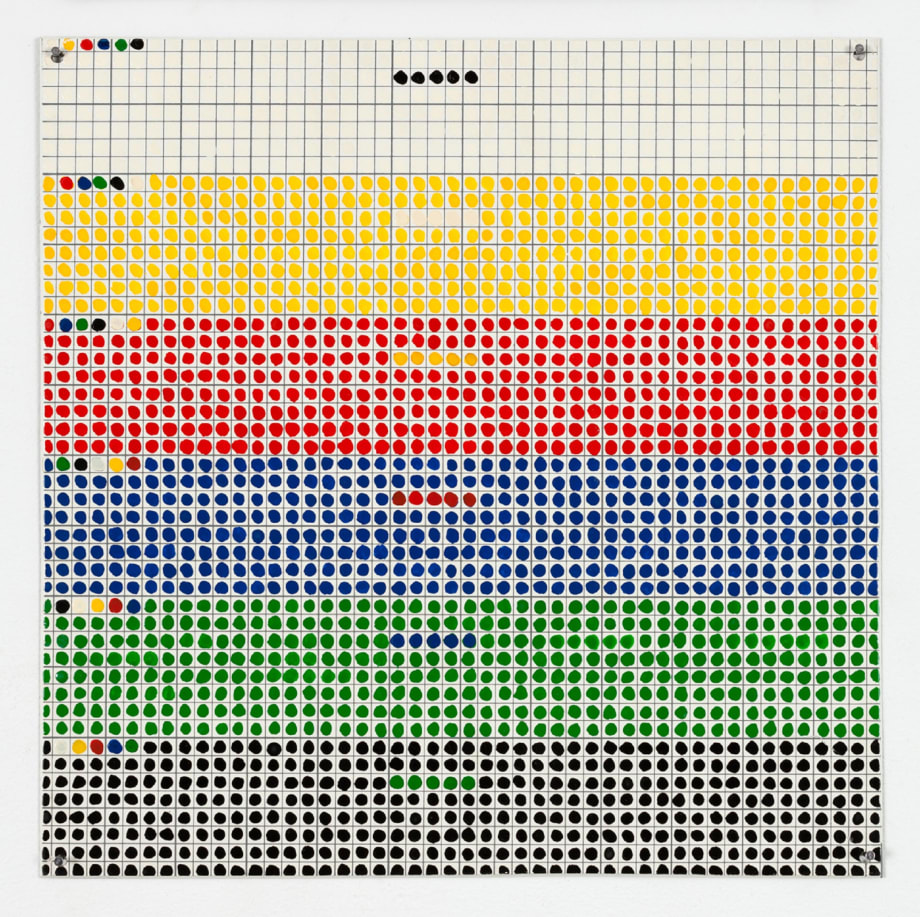 Color Counting by Jennifer Bartlett