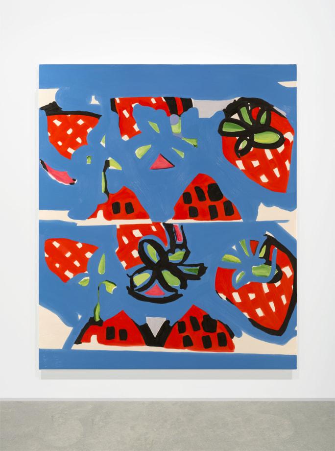 Strawberry Blue by Elizabeth McIntosh