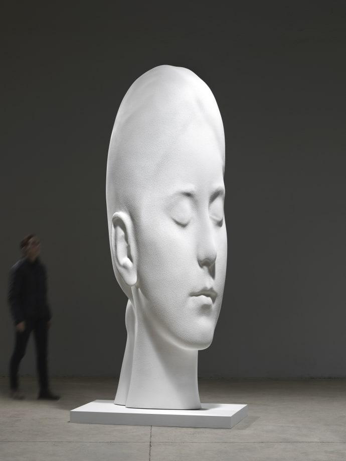 Sophia in White by Jaume Plensa