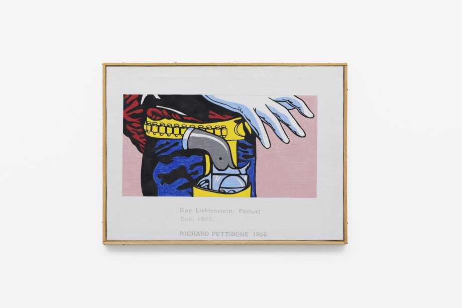 Roy Lichtenstein, Fastest Gun, 1963 by Richard Pettibone