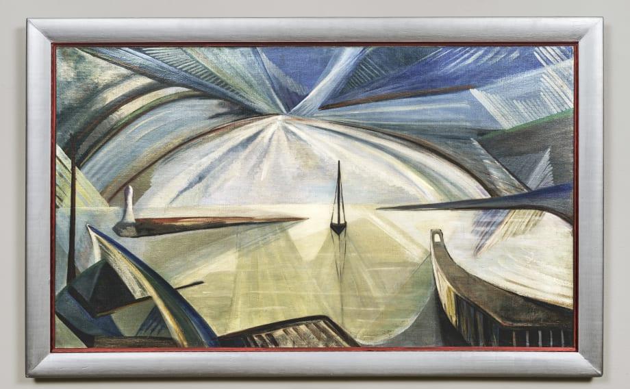 Stonington Harbor by Katherine Dreier